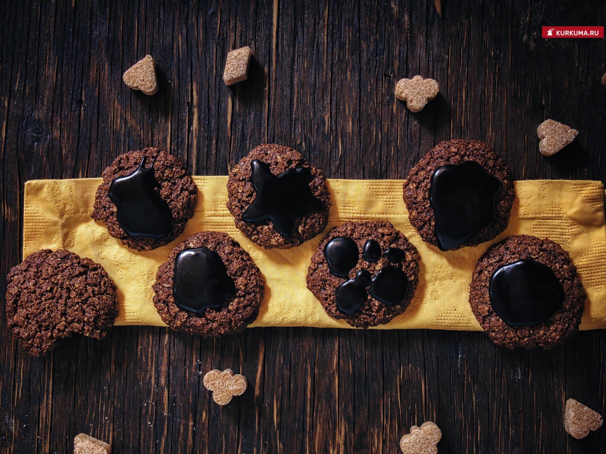 Овсяное печенье с кэробом