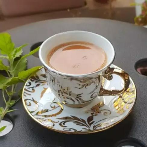 Чай Тулси с мятой и имбирем