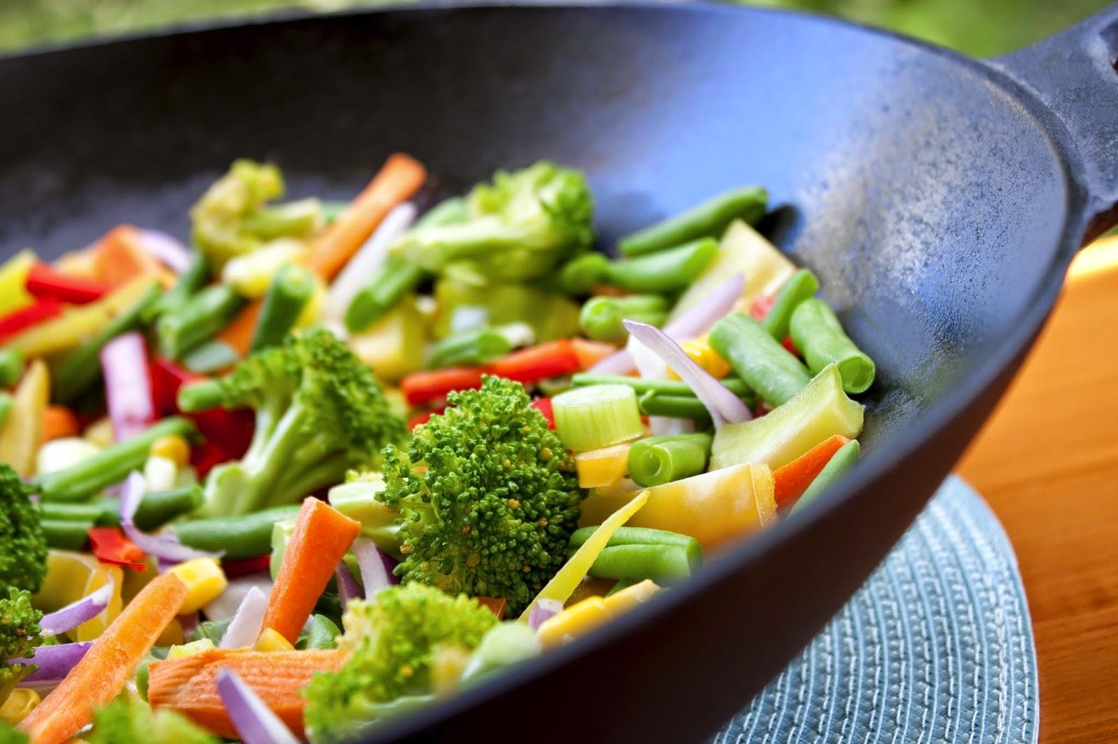 Приготовление овощей по аюрведе