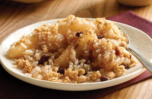 Яблочный рис