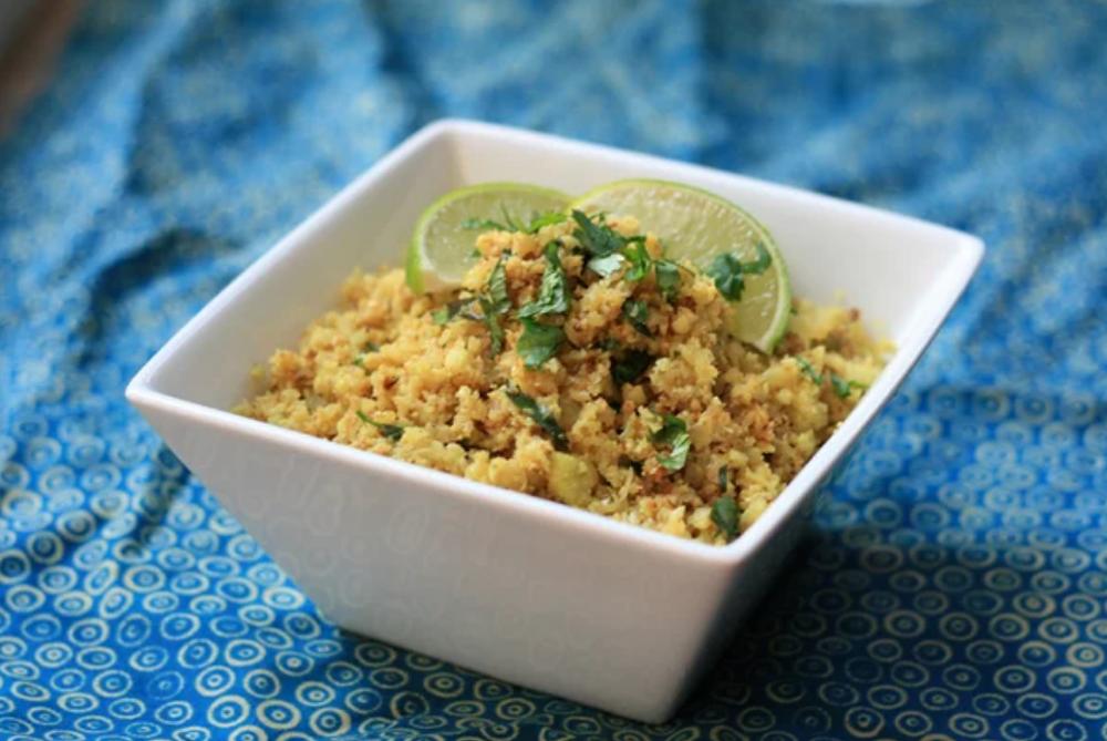 Бирьяни из цветной капусты (без риса)