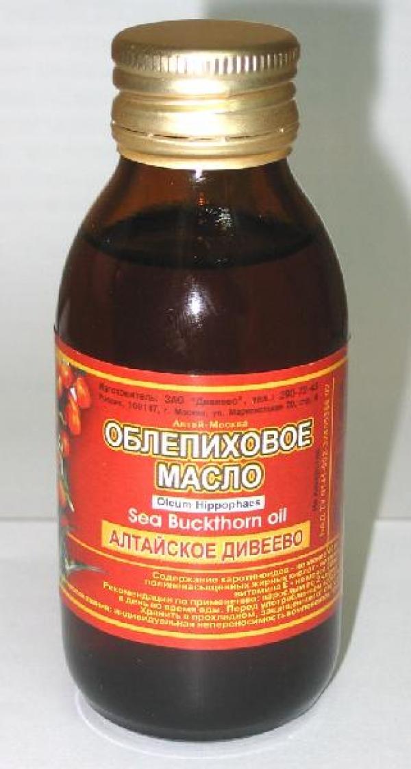 Облепиховое масло дивеево