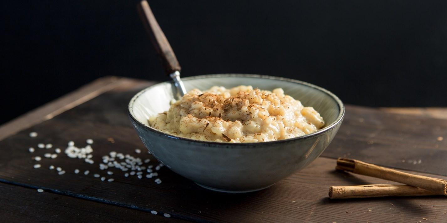 Веганский пряный рисовый пудинг