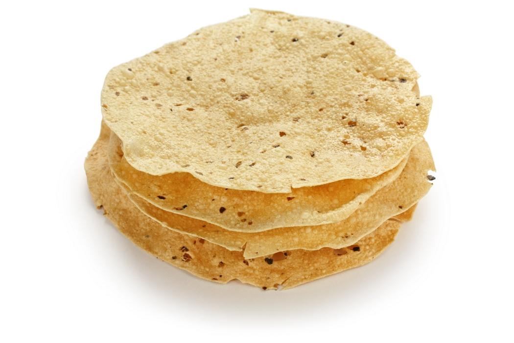 Пападам - вафли из дала