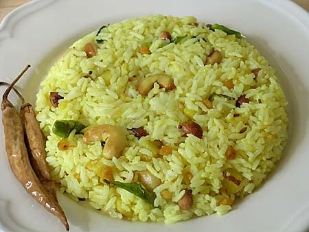 Читраннам (лимонный рис)