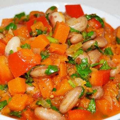 Рагу из овощной смеси