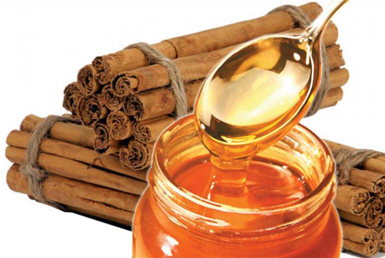 Польза мёда и корицы