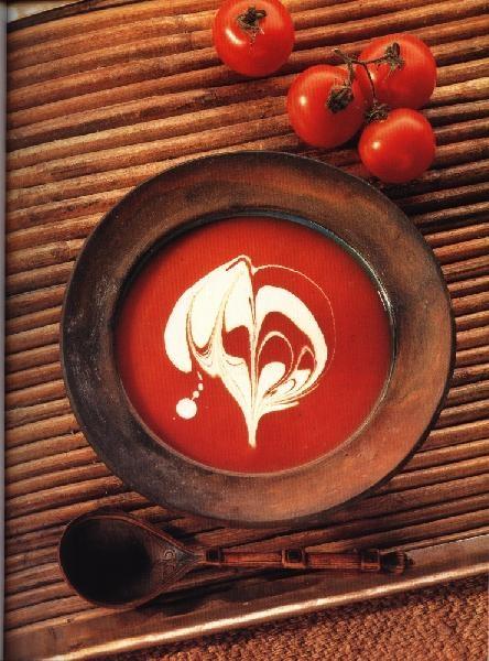 Суп томатный с кориандром