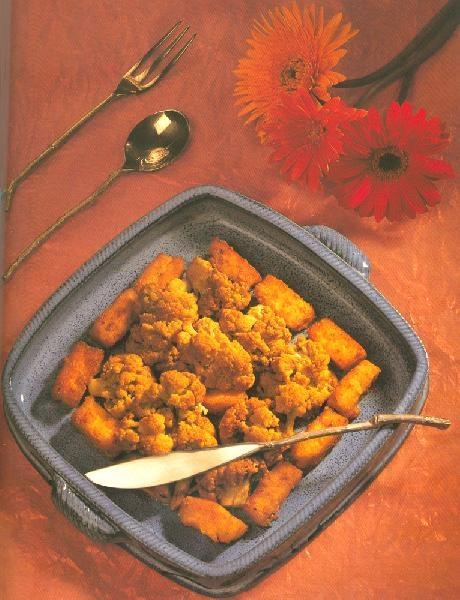 Гоби Чаман (цветная капуста с паниром и тмином)