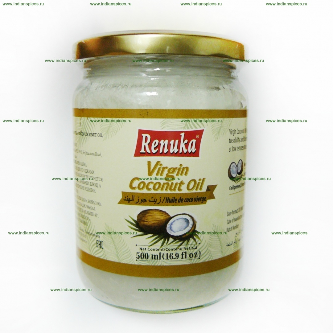 Масло кокосовое вирджин Renuka